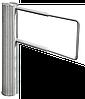 Турнікет – МЕХАНІЧНА хвіртка GATE -SPR, телескопічна лопать з труби (650-1000) мм Н/Ж полірована.