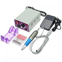 Машинка для маникюра и педикюра фрезер Beauty nail NN 25000 с педалью , фото 1