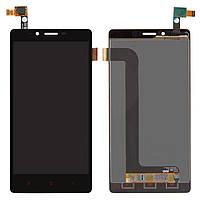 Дисплей для Xiaomi Redmi Note (2014712), модуль в сборе (экран и сенсор), черный, оригинал