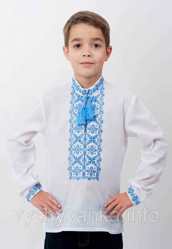 Вышиванка для мальчика с длинным рукавом, арт. 4413