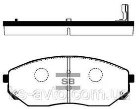 Гальмівні колодки HI-Q SP 1153