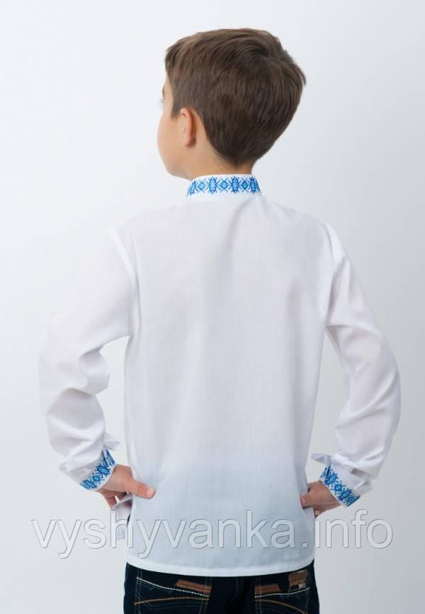 белая вышитая рубашка в украинском стиле  детская