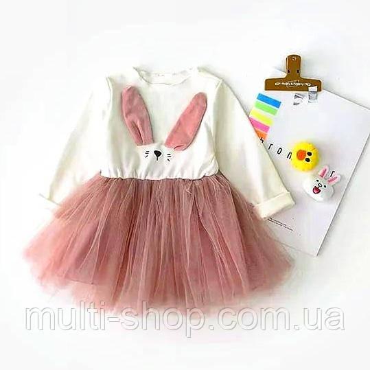 """Платье для девочки """" Зайка"""", фото 1"""