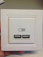 Розетка USB 2,1A двойная Schneider Electric Asfora