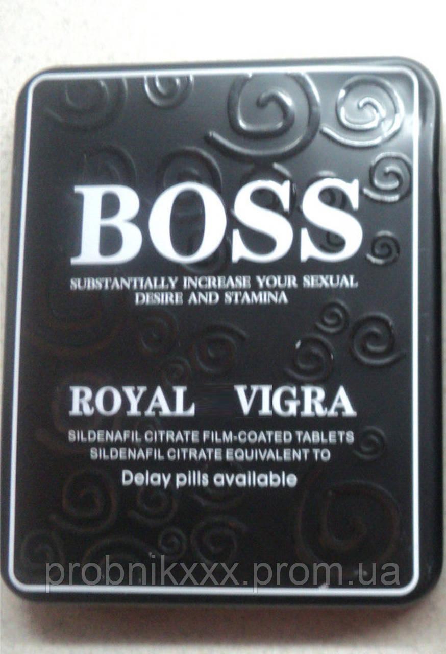 """Королевская вигра босс """"boss royal vigra"""" вигра для потенции (27 таблеток в  упаковке)"""