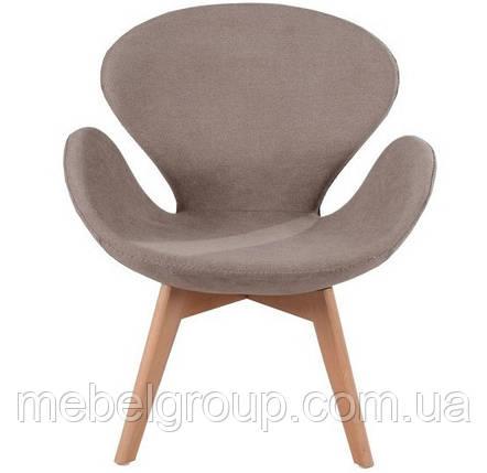 Кресло мягкое Сван коричневое, фото 2