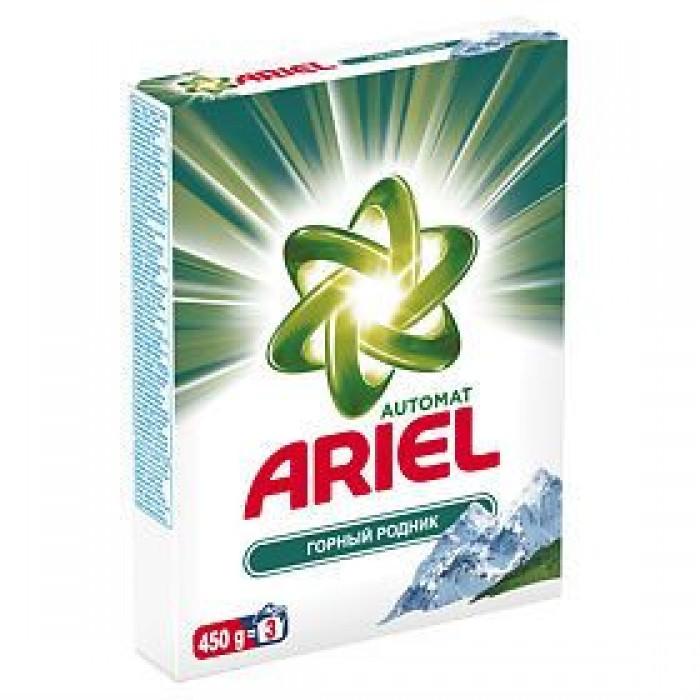 Стиральный порошок Ariel автомат Горный родник 450г