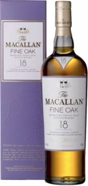 Виски Macallan Fine Oak 18 YO / Макалан Файн Оак 18 лет 43% 0.7л, фото 2