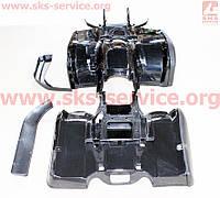 Пластик на квадроцикл черный 11 деталей