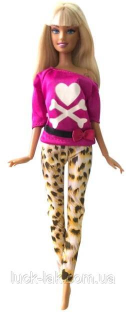 Кукольный костюм штаны и кофточка для куклы Барби