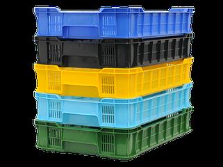 Пищевые пластиковые ящики