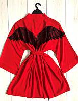 Халат с крыльями красный, фото 1