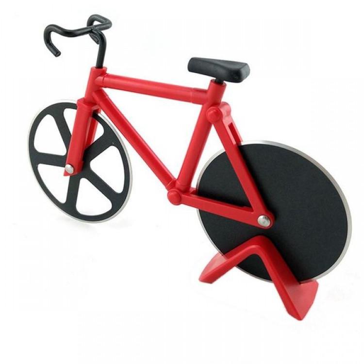 Ніж для піци Велосипед червоний
