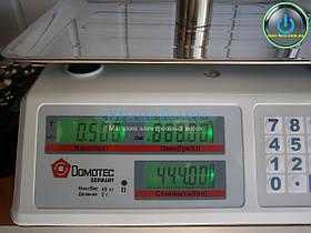 Весы торговые DT- 40 кг/2г Domotec.