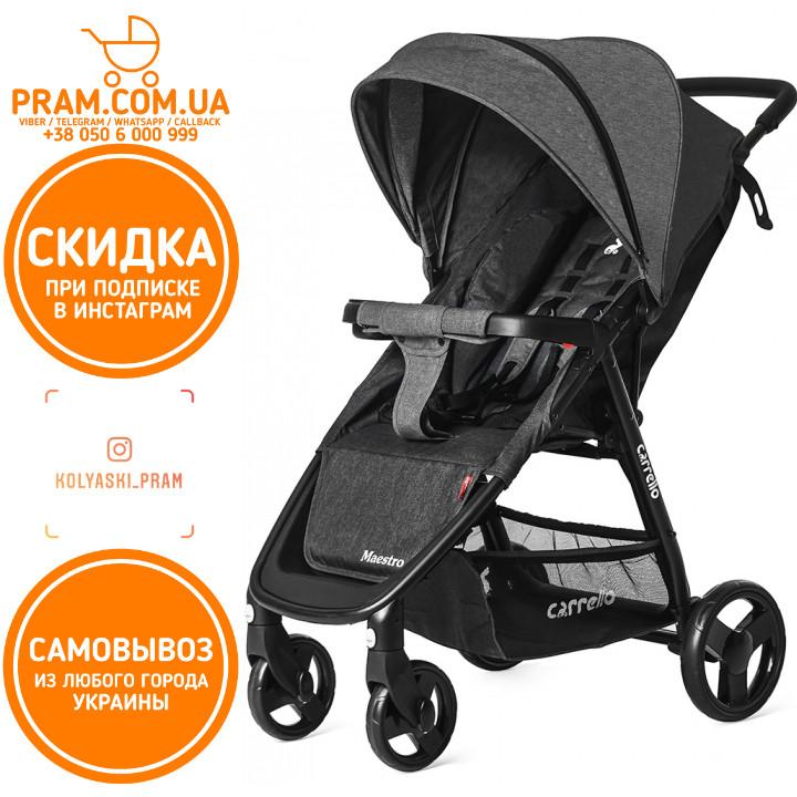 Прогулочная коляска Carrello Maestro CRL-1414 Len Frost Gray Темно-серый