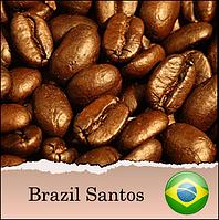 Кофе в зернах Arabica Braziliya Santos свежеобжаренный, 1000 гр