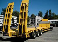 ВАРЗ-НПВ 3811  3-осный полуприцеп-тяжеловоз  грузоподъемностью 38 000 кг.