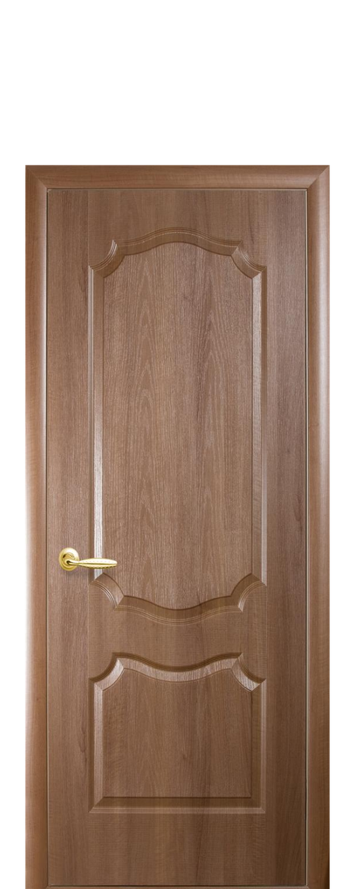 """Двери межкомнатные ТМ Новый Стиль """"Фортис De Luxe V"""" глухие золотая ольха"""