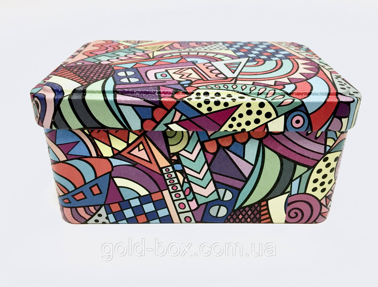 Жерстяна подарункова коробка