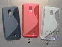 Силиконовый чехол для LG Optimus LTE LU6200