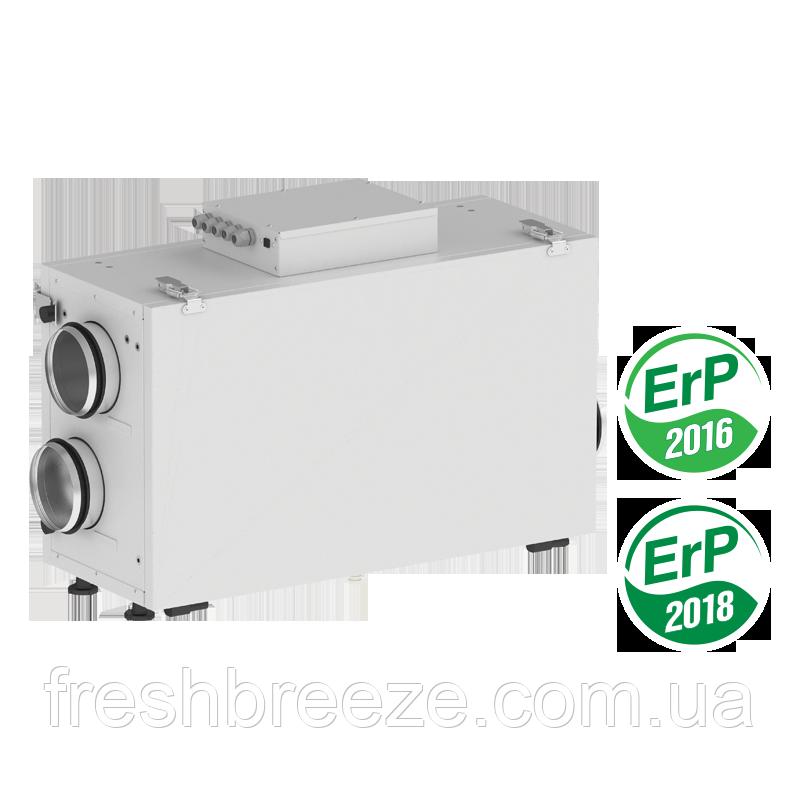 Приточно-вытяжная установка с рекуперацией тепла Вентс ВУТ 300 Г2 мини ЕС А2