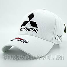Кепка Mitsubishi А27 Белая