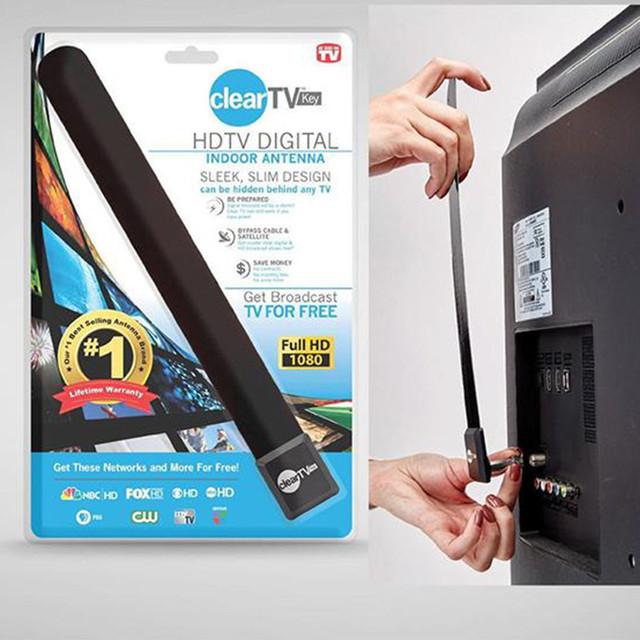 Цифровая комнатная Т2 ТВ антенна Clear TV HDTV