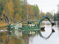 Дноуглубление искусственных водоемов