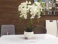 Орхидея для интерьера искусственная , декор для мебели