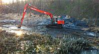 Расчистка искусственных водоемов