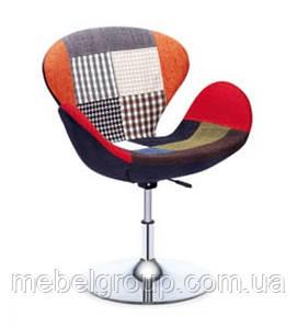 Кресло барное Сван пэчворк