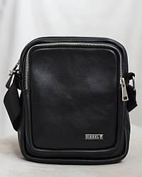 Мужская кожаная сумка барсетка Disel