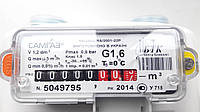 Счетчик газа мембранный САМГАЗ G 1,6 RS/2001-22 Р 1 1/4