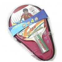 Набор для настольного тенниса 729 Friendship 4210 4 star (ракетка, чехол)