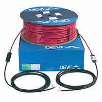 Нагревательный кабель одножильный Devi flex DSIG-20 на 230 В~ Вт 980/1070 53м