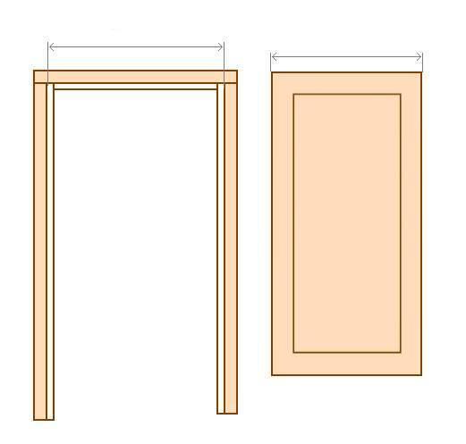 Двери и Лудка (массив) (Смерека) + покраска +брашировка