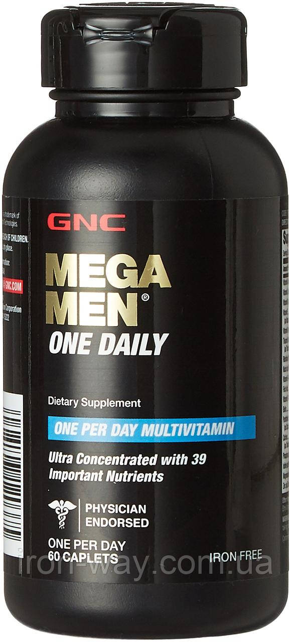 GNC Mega Man One Daily per Day 60 tab
