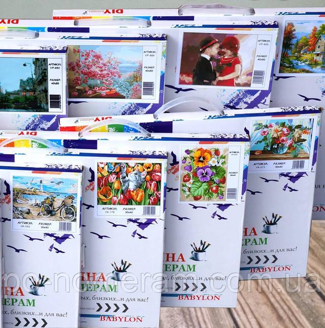 Картина по номерам Замок купить в Украине