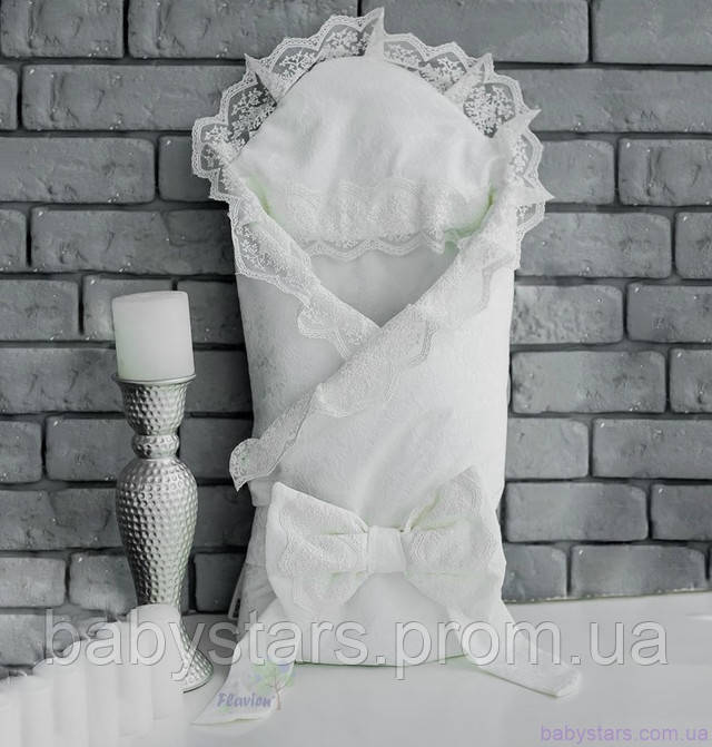 конверт одеяло с кружевом