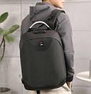 Рюкзак  с USB-разъемом и таможенным замком Aizhiyi черный.(AV151/1), фото 2