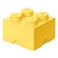 Четырехточечный светло желтый контейнер для Lego 40031741, фото 1