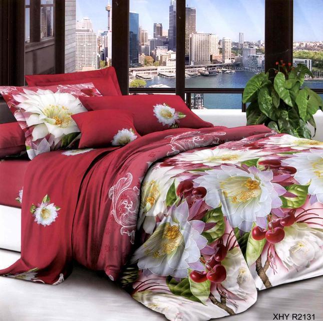 Комплект двуспального постельного белья Черешня