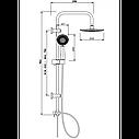 Душевая стойка Invena Simi AU-17-001, фото 2