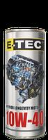Масло моторное E-TEC 10W-40 Turbo Diesel CH-4 1лит