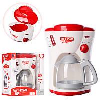 Детская игрушечная бытовая техника кофеварка, звук, свет, 3209