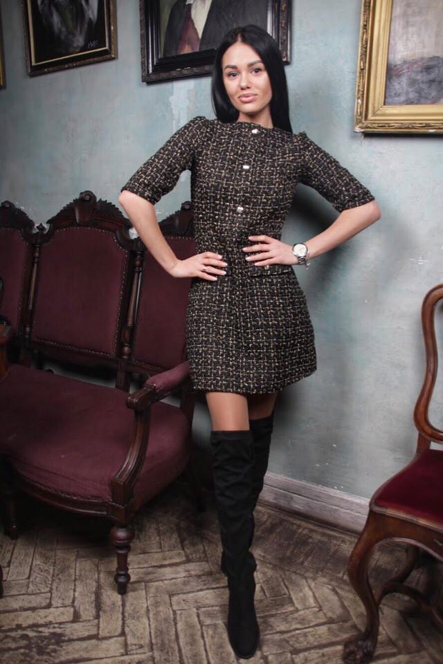 Женское модное платье АК405