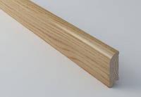 Плинтус (цельный) из дерева
