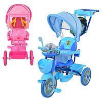 Трехколесный велосипед Profi Trike ET A18-9-1B Синий