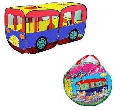 Палатка автобус детская
