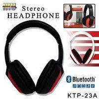 Наушники HD Bluetooth  с MP3 плеером, FM радио Marshal KTP-23A
